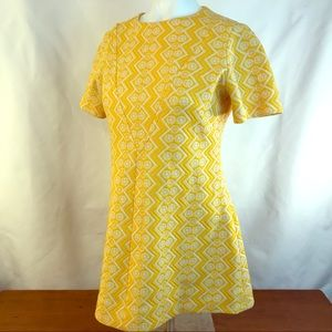 Dresses & Skirts - Vintage Mid-Century Mod Handmade Hipster Dress